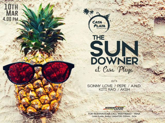 The Sundowner at Casa Playa 10th March 2019