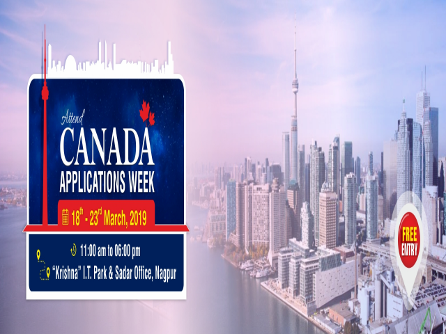 Apply to High Ranked Universities in Canada from 18th to 23rd March 2019 at Kris