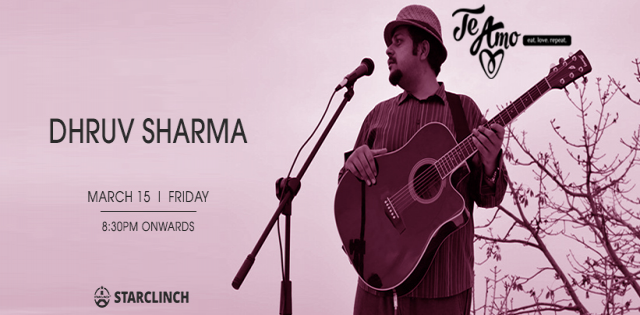 Dhruv Sharma - Performing LIVE At Te Amo Restaurant, Ansal Plaza