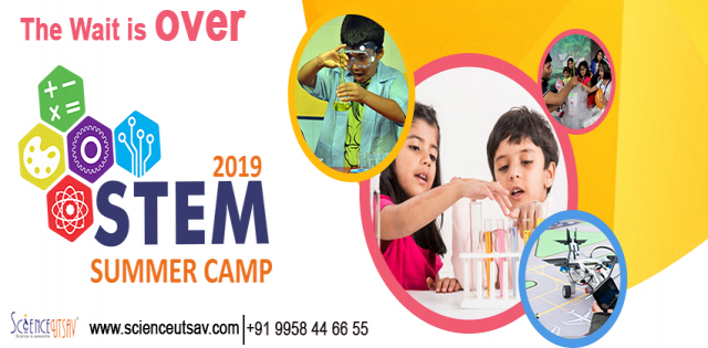 STEM Science Summer Camp at ScienceUtsav Dadar