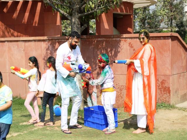 Celebrate Holi - Lets Play Holi at Jaypee Greens Golf & Spa Resort, Noida