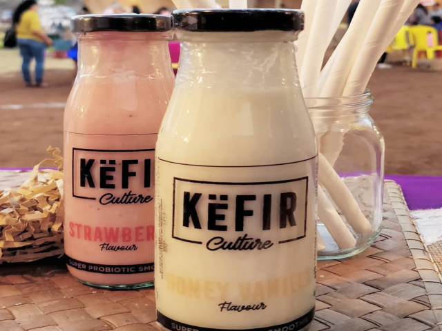 Sample, Shop, Slurrrrp and Sunday with Kefir Culture at Farmer's Market, Bandra