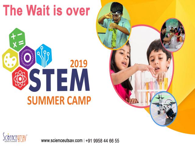 STEM Science Summer Camp at ScienceUtsav, Visakapatnam
