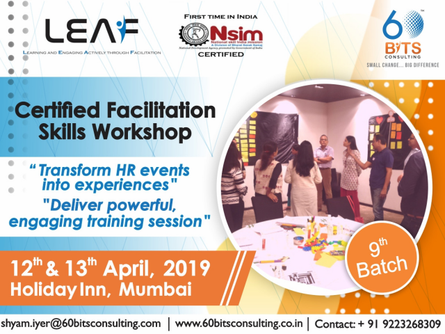 Upcoming 9th Batch on 12th & 13th April 2019
