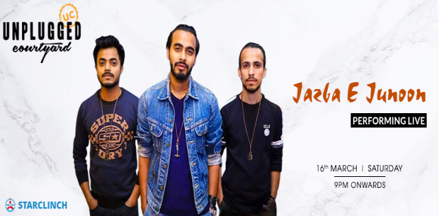 Jazba E Junoon - Performing Live At Unplugged Courtyard CP
