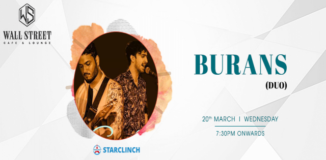Burans Live Band - Performing Live at Wall Street Cafe Lounge