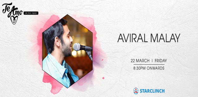 Aviral Malay- Performing Live at Te Amo, August Kranti Marg