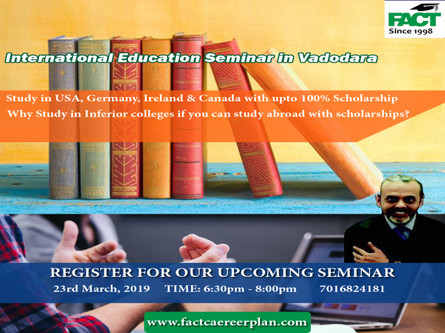 International Education Seminar In Vadodara