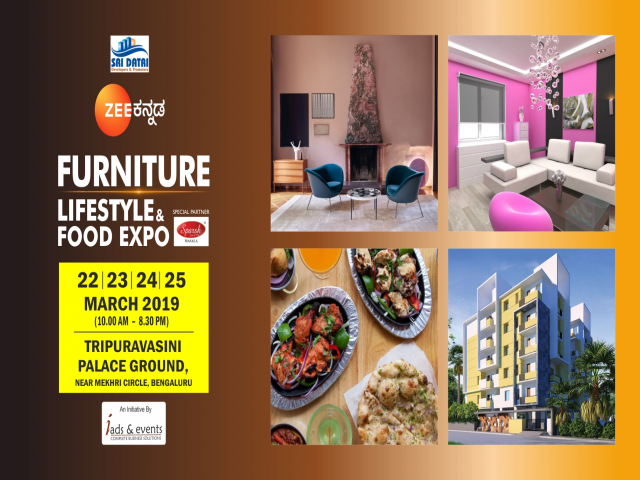 Furniture,Lifestyle and Food Expo - Bangalore