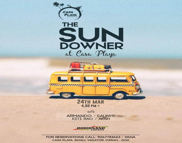 The Sundowner at Casa Playa 24th March 2019