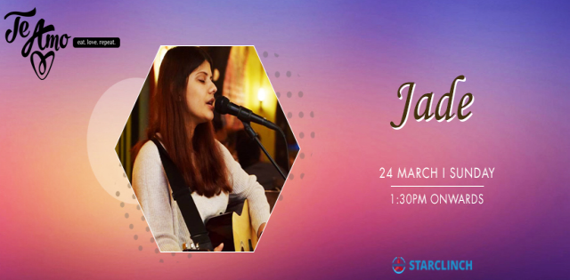 JADE - Performing LIVE At Te Amo, Ansal Plaza Mall