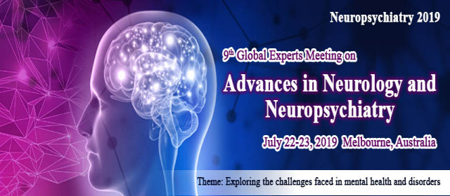 9th Global Experts Meeting on Advances in Neurology and Neuropsychiatry
