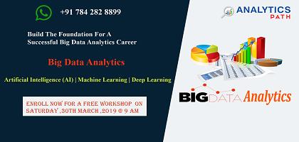 Attend Free Big Data Analytics  Workshop At Analytics Path On 30th Mar,9AM