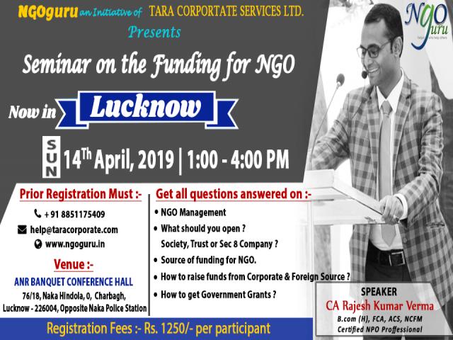 NGOGURU Seminar on the Funding for NGO