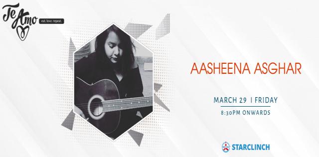 Aasheena Asghar - Performing LIVE At Te Amo, August Kranti Marg
