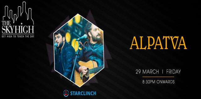 Alpatva Band - Performing LIVE At The Sky High, Andrews Ganj