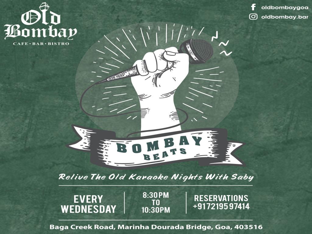 Bombay Beats: Karaoke Night  3rd April 2019