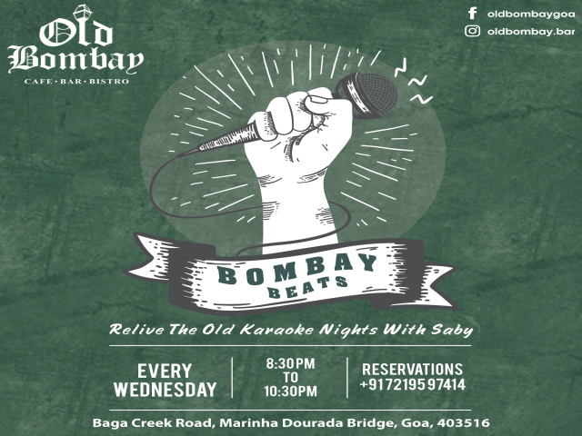 Bombay Beats: Karaoke Night  3rd April 2019