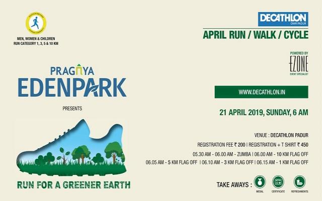 Decathlon RUN Series - Earth Day Run