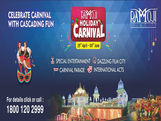 Ramoji Film City Holiday Carnival Celebrations 2019.