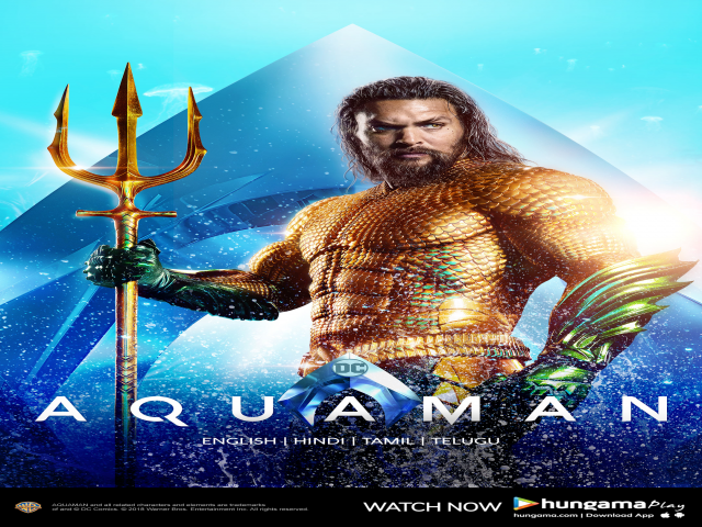 Hungama Play Premieres the Worldwide Blockbuster, Aquaman