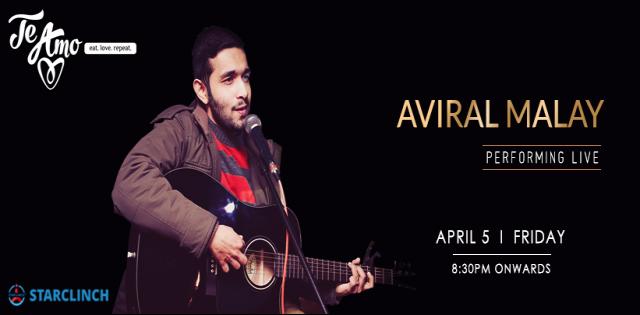 Aviral Malay- Live at Te Amo, Ansal Plaza