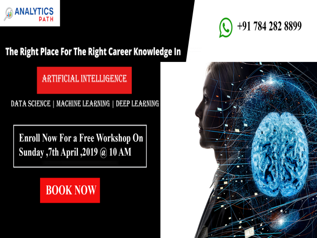 Free Artificial Intelligence  Workshop At Analytics Path On 7th April,10 AM