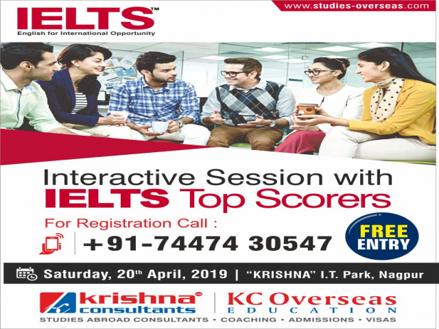 Interactive Session with IELTS Toppers to Boost Your Test Score - 20th April'19