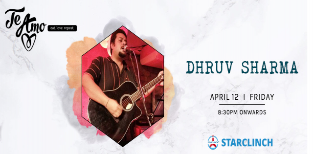 Dhruv Sharma - Performing LIVE At Te Amo, August Kranti Marg