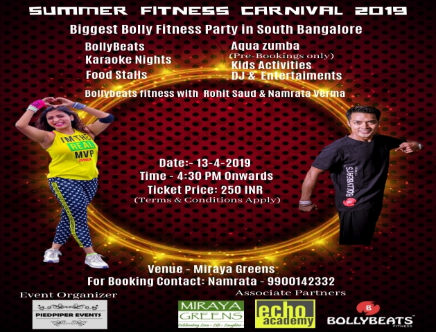 First Ever Summer Fitness Carnival 2019