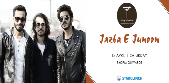 Jazba E Junoon - Performing Live At Dirty Martini, Hyderabad
