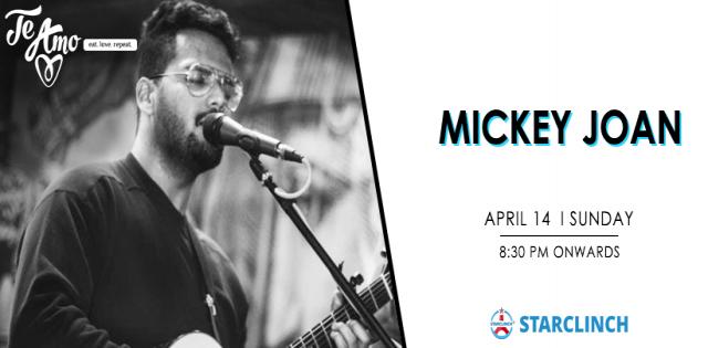 Mickey Joan - Performing LIVE At Te Amo, Ansal Plaza