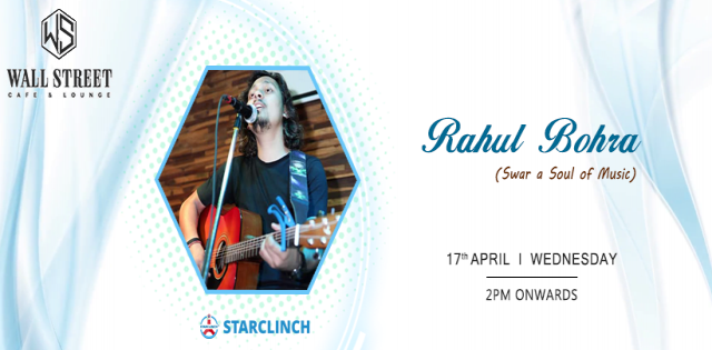 Rahul Bohra(Swar A Soul Of Music) - Performing LIVE At Cafe Public Connection,CP