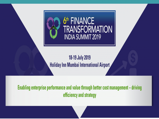 6th FINANCE TRANSFORMATION INDIA SUMMIT 2019