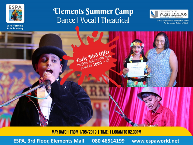 ESPA - Vocal, Dance, Musical Theatrical Summer Camp.