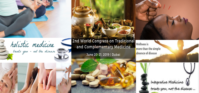 2nd World Congress on Traditional and Complementary Medicine