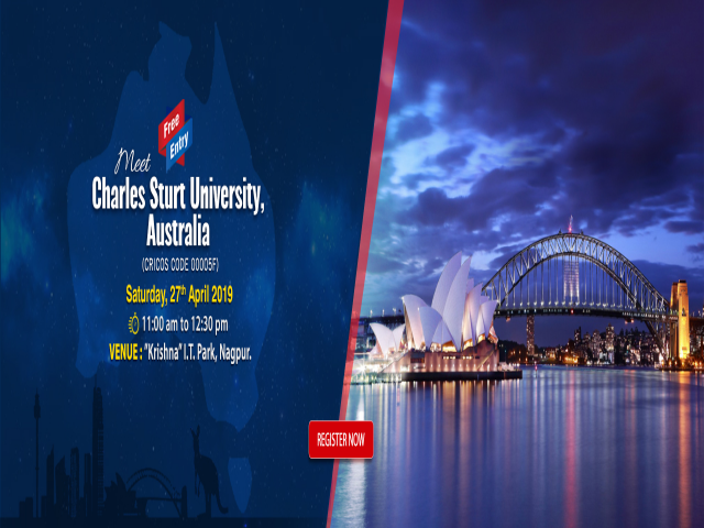 Meet Charles Sturt University, Australia at KC Nagpur  - 27 April 2019