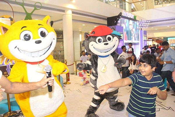 YAY! Toons Honey-Bunny & Kicko visit Select City Walk Mall, Saket for a summer m