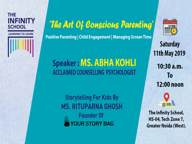 The Infinity School Workshop: The Art Of Conscious Parenting   Storytelling For Kids