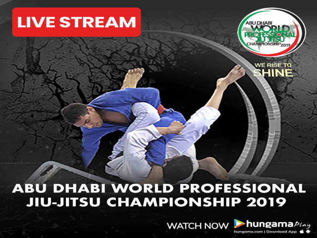 Abu Dhabi World Professional Jiu-Jitsu Championship 2019 now streaming live on H