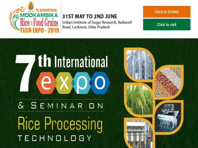 Mookambika Rice & Food Grains Tech Expo 2019