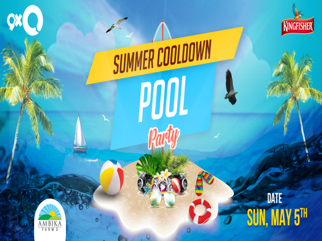 Summer Cool Down Pool Party