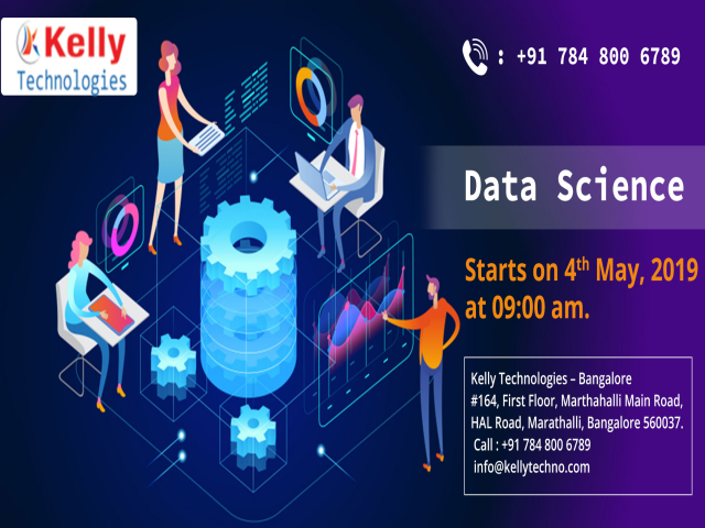 Start Enrolling For Data Science Free Demo By Kelly Technologies