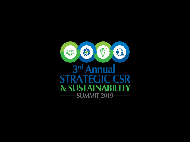 3rd Annual Strategic CSR & Sustainability Summit 2019