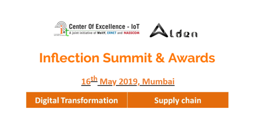 Digital Transformation & Supply Chain- Inflection Summit Awards 2019