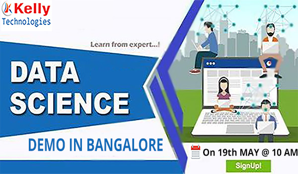 Free Data Science Workshop In Bangalore At Kelly technologies on 19th Sunday @10