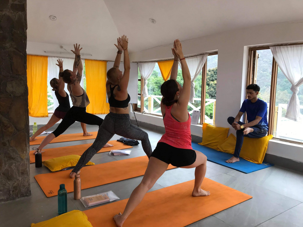 300 Hours Yoga Teacher Training Courses in Rishikesh India