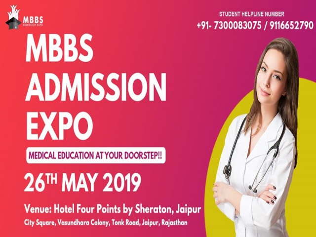 3rd Edition of MBBS Admission Expo in Jaipur!