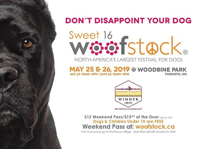 North America's largest festival for dogs, May 25th, and 26th 2019