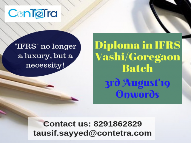 Diploma in IFRS Training Program in Mumbai by ConTeTra